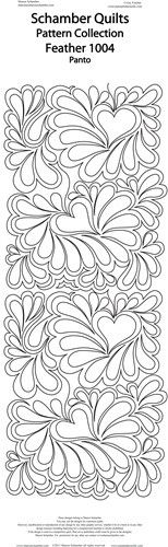 Feathered Hearts – Purple Daisies Quilting