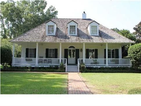 A hays town architect oakwood dr lafayette la a hays for Home plans louisiana