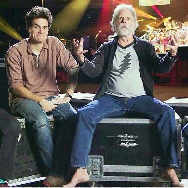 John Mayer and Bob Weir #GratefulDead
