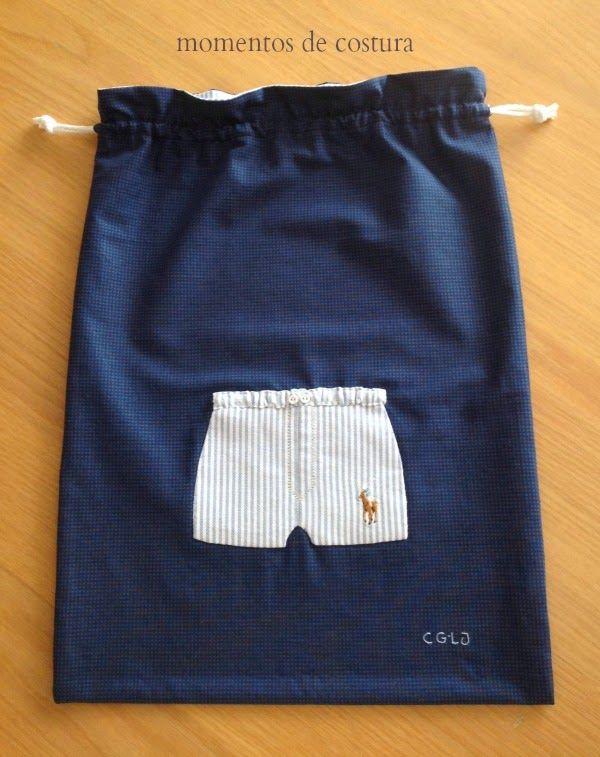 Bolsa para ropa interior masculina