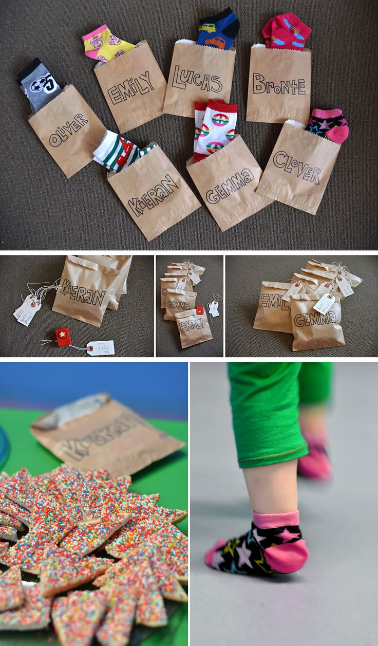 I love this idea for a party favor, practical and fun!  Especially if you have a bounce house party.