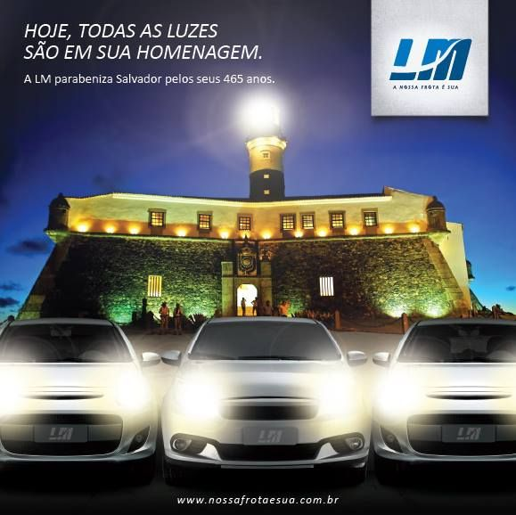 A capital-sede da LM completou 465 anos e nós não poderíamos deixar de preparar uma homenagem para a belíssima cidade de Salvador!