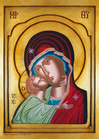 HolyBrush.com - Virgin of Tenderness Sweet Kissing, $34.95 (http://www.holybrush.com/virgin-of-tenderness-sweet-kissing/)