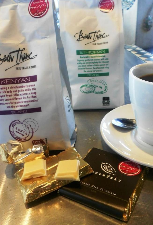 Organic coffee from all around the African continent!