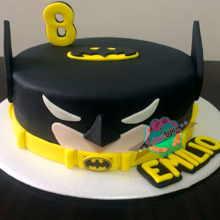 Torta Batman Realiza tu pedido por; https://goo.gl/mvYBYv WhatsApp: 3058556189, fijo 8374484  correo info@amaleju.com.co Síguenos en Twitter: @amaleju / Instagram: AmaLeju #torta #Cake #superheroes #Batman