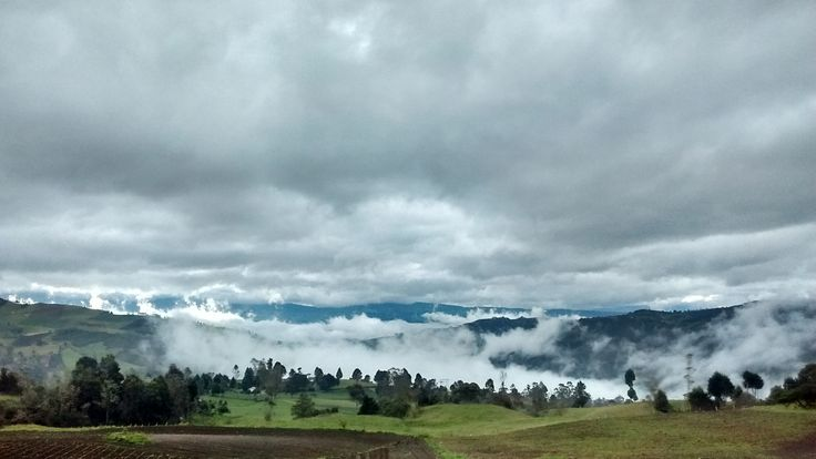Tunja, Boyaca, Colombia, dawn 2 / 2