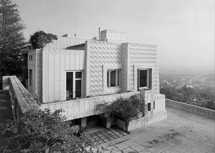 Ezra Stoller, 'Ennis House, Frank Lloyd Wright, Los Angeles, CA', 1954