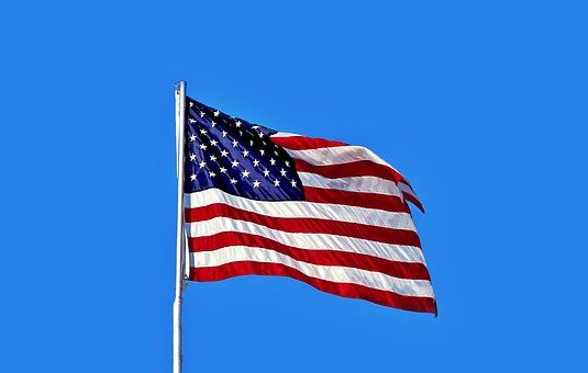 Bandera, Americana, Países, Símbolo