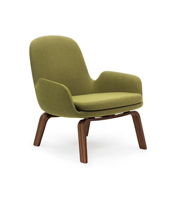 Era Lounge Chair Low With Wood Legs Normann Copenhagen