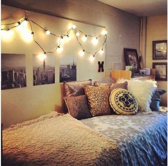sweet way to make a dorm amazing