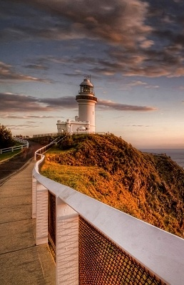 Byron Bay Lighthouse, Australia. Most eastern point of Australia - see the first sunrise there!