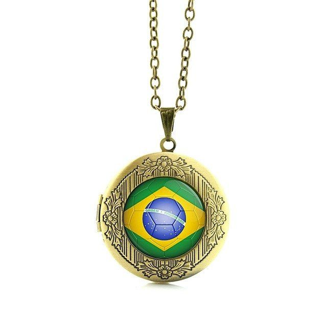 Brazil football team logo souvenir