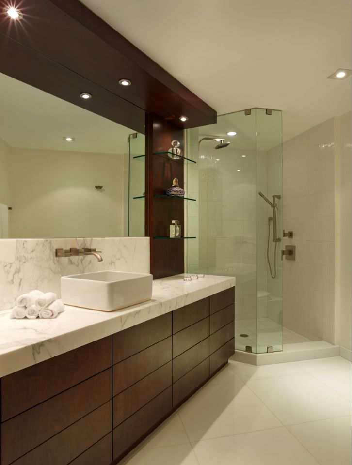 GUEST BATHROOM BY SANTAMARIA DESIGNS
