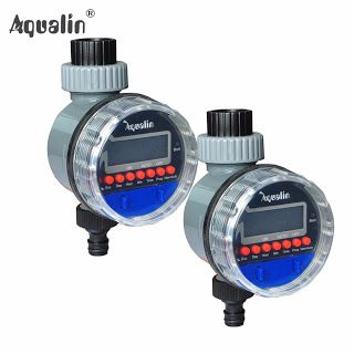 2pcs Electronic LCD Display Home Ball Valve Water Timer Garden Irrigation Controller System #21026-2 (32704254504)  SEE MORE  #SuperDeals