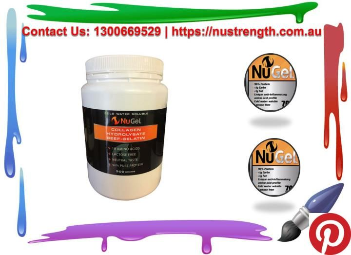 Gelatin Collagen Hydrolysate Beef is also used for many purposes like losing weight, brittle bones and treating other ailments as well. By consuming it in routine, you can reap maximum benefits of it.  https://nustrength.com.au/product/nugel-700g/