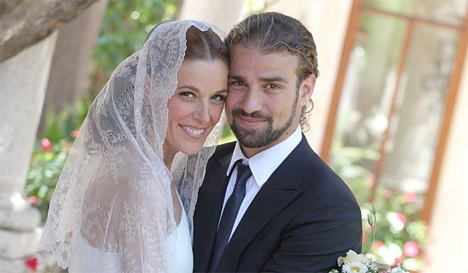 La boda de Raquel Sánchez Silva con Mario Biondo en Sicilia