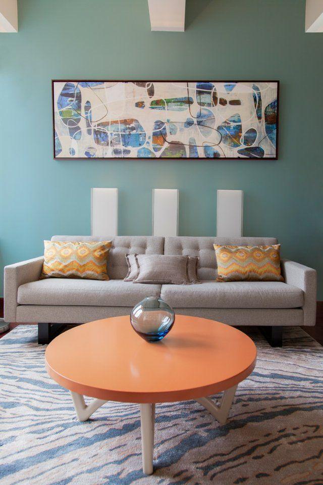 The 25+ Best Ideas About Wandgestaltung Mit Farbe On Pinterest ... Farbgestaltung Innenraume Beispiele