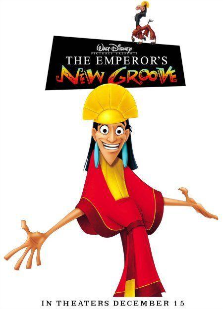 The Emperor's New Groove (2000). Good Disney movie, Patrick Warburton makes this movie.