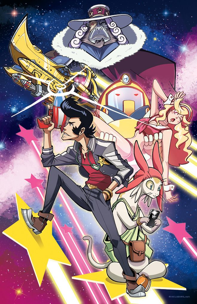 Space Dandy #anime #art