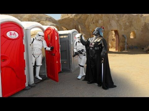 2016 Toilet PRANK !! Stormtroopers attack ! STAR WARS ATTACK OF JHIN - YouTube
