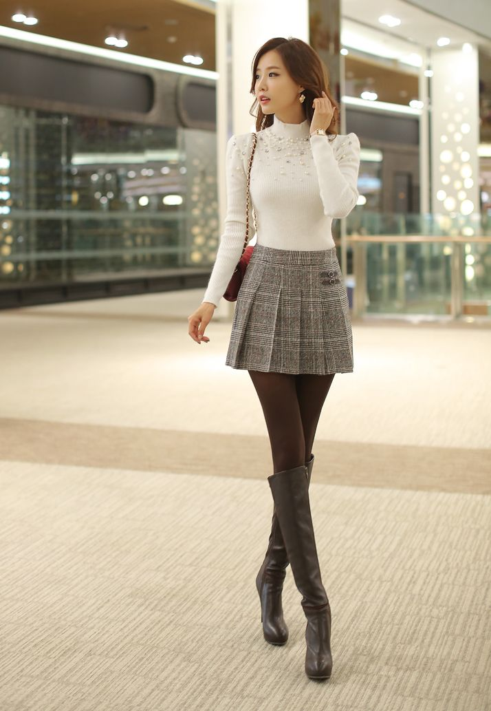 Pleated Skirt Get It At Yesstyle -   Asian -5598