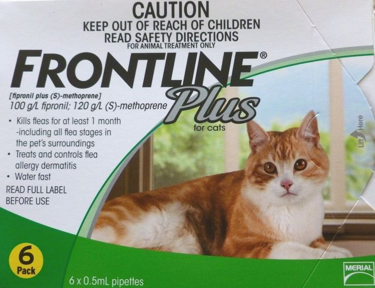Flea and Tick Remedies 20738: Discounted! Frontline Plus For Cats 6 Months Pack (Green Box 8 Weeks Up) Merial -> BUY IT NOW ONLY: $42.99 on eBay!