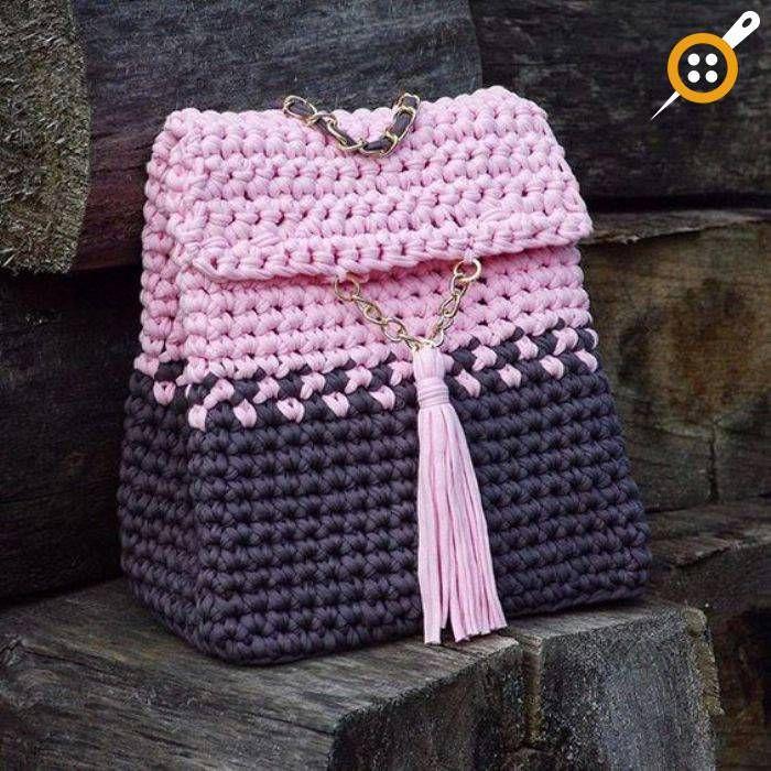 Penye ipten sırt çantası modelleri