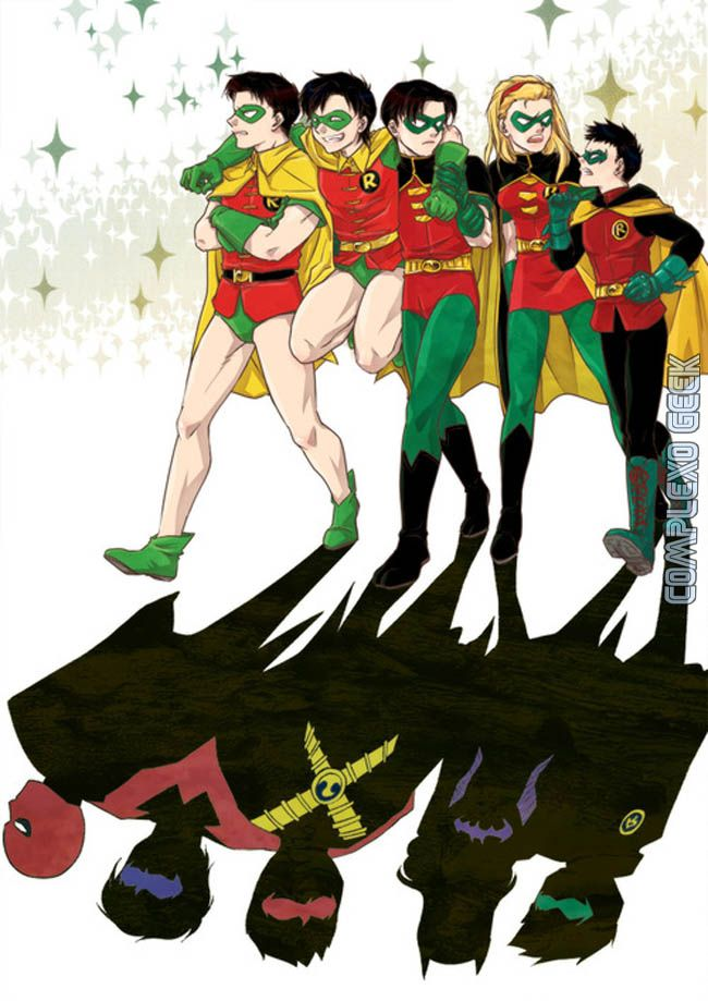 all 5 robins | robin5