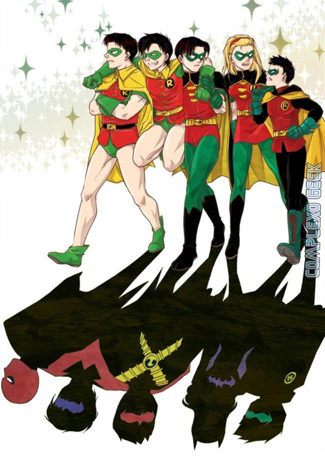 all 5 robins | robin5