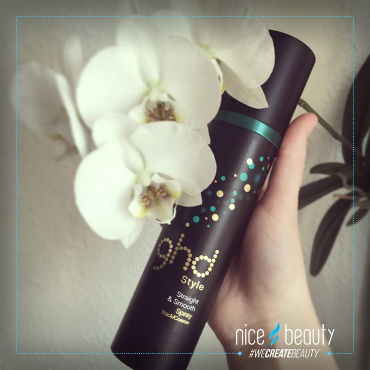 Heat protection is to important to neglect! This one from ghd leaves your hair soft and glossy!