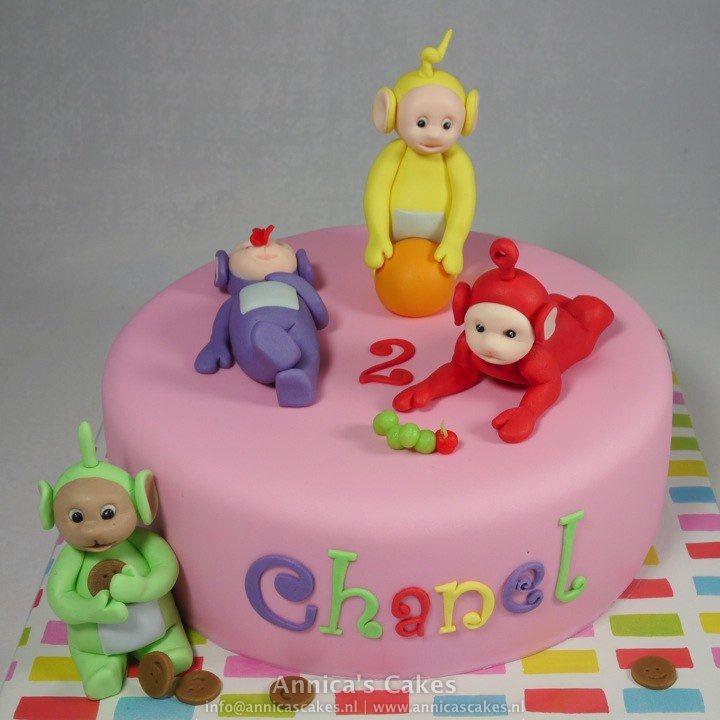 Telletubbies cake/ Teletubbies taart