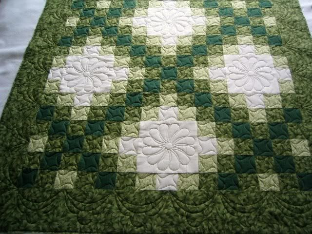 Another Way To Quilt An Irish Chain Quilts For All