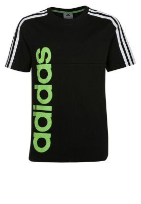 adidas Performance Tshirt z nadrukiem czarny via biglo.pl. Track it here to find out when it goes on sale!