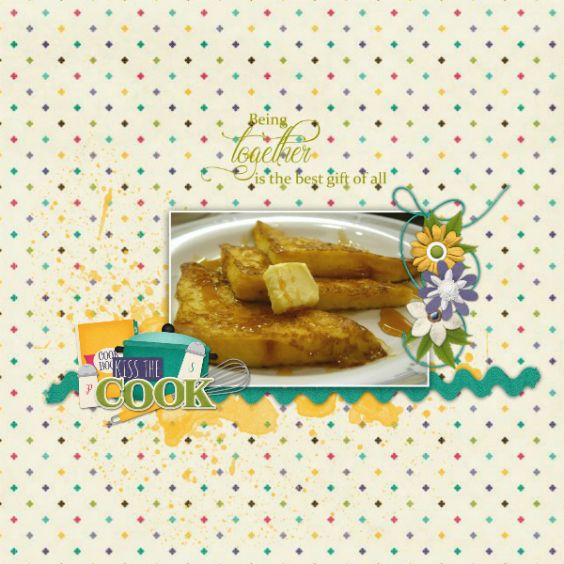 Created with Secret recipe kit and word art cluster by Connie Prince. Title word art freebie.