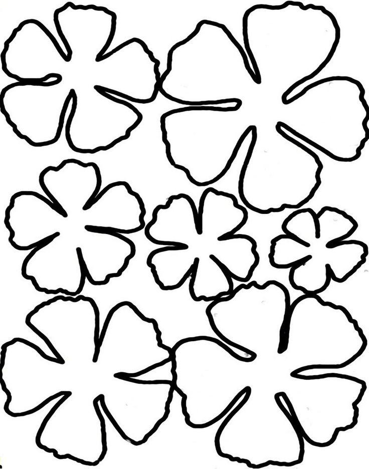Шаблон цветов на открытках, картинки