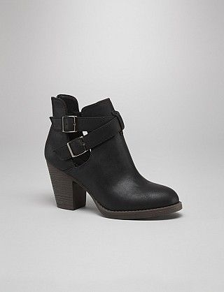 Love these booties.....classic with a little edge.