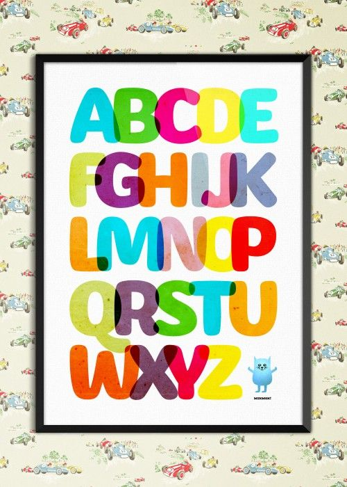 Plakat ABCDE