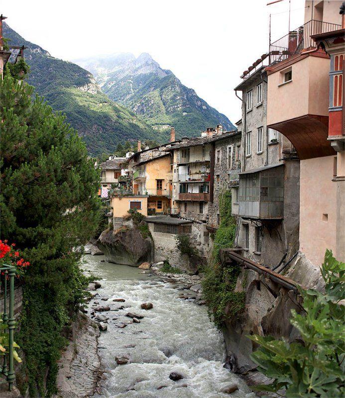 Part of Chiavenna_ Italy