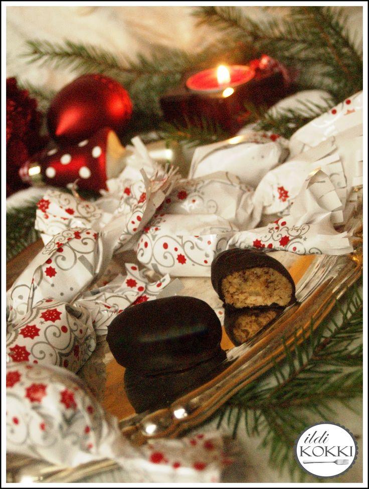 karácsony, Christmas, receptek, finn, egyszerű, ünnep, gyors, sütemény, sütés nélkül
