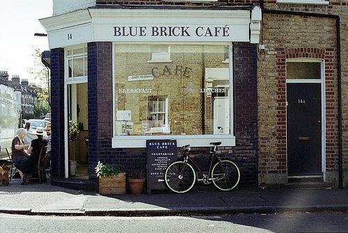 blue brick cafe . london