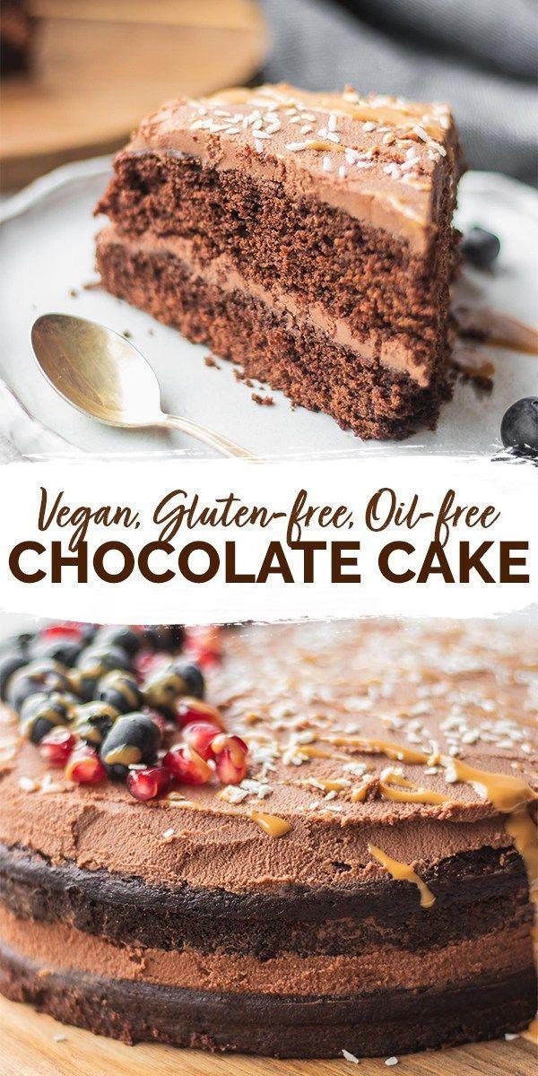 Easy Gluten Free Vegan Chocolate Cake Earth Of Maria Recipe Vegan Chocolate Cake Vegan Dessert Recipes Vegan Chocolate