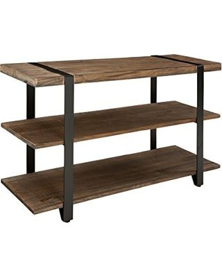 "Deal Alert! Alaterre AZAMSA1020 Stowe 48"" L Reclaimed Wood Media/Console Table, Brown"