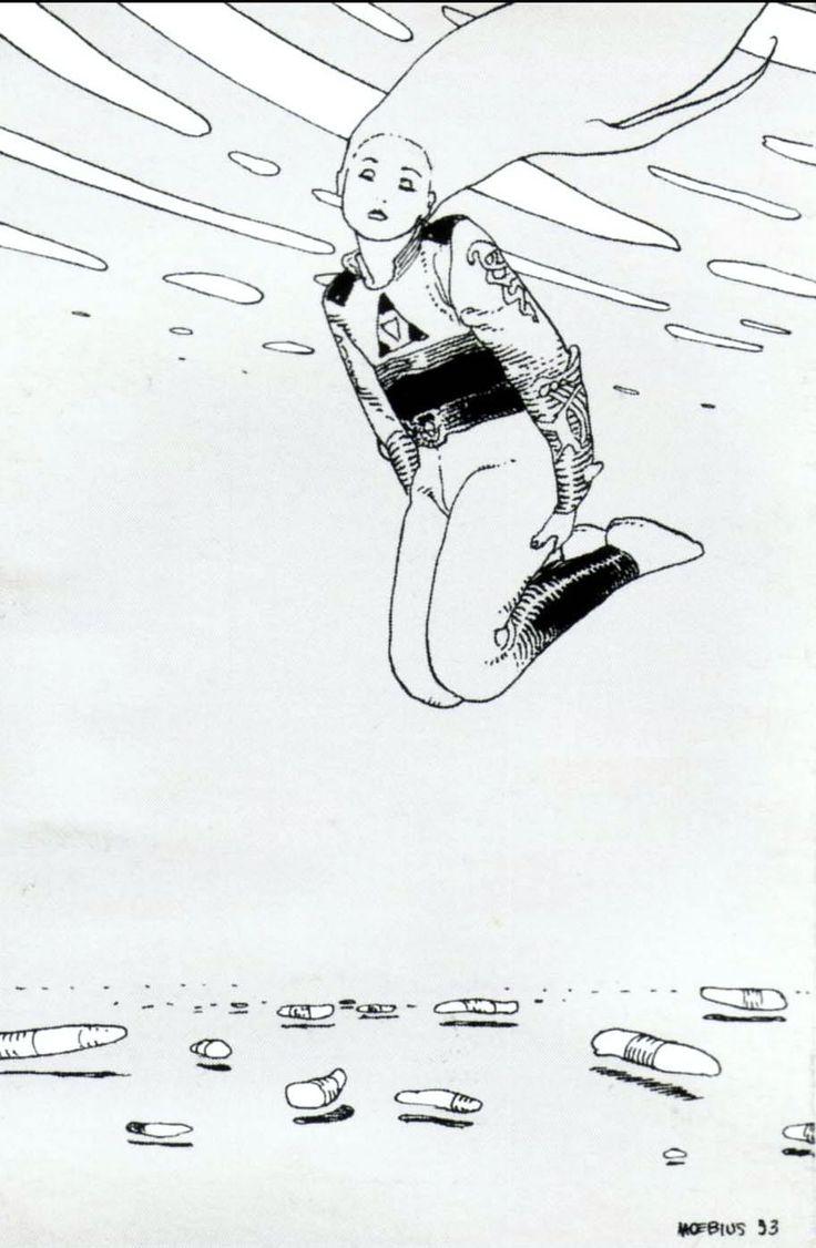 Moebius Giraud | Artbook Nº9 | Surreal comic artist | French illustrator #Surrealismo #Design @deFharo