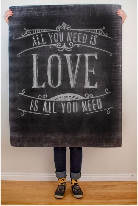 25 Love Posters to Print, Make + Send for Valentines