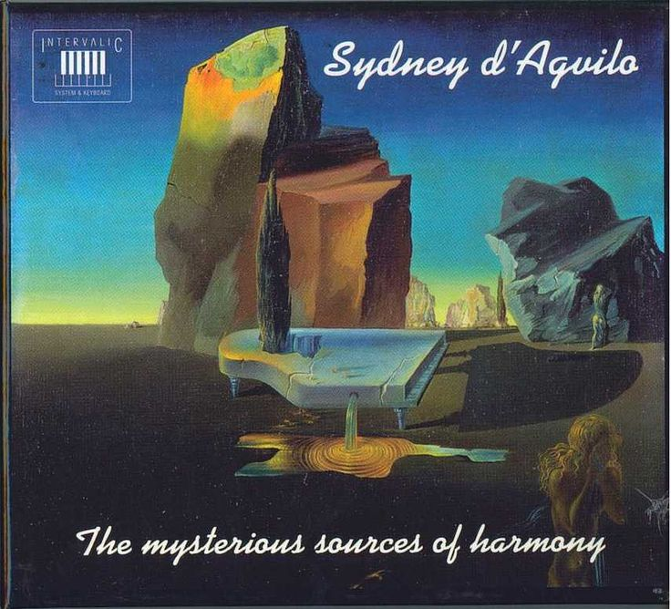 SYDNEY D'AGVILO, THE MYSTERIOUS SOURCES OF HARMONY (CD)