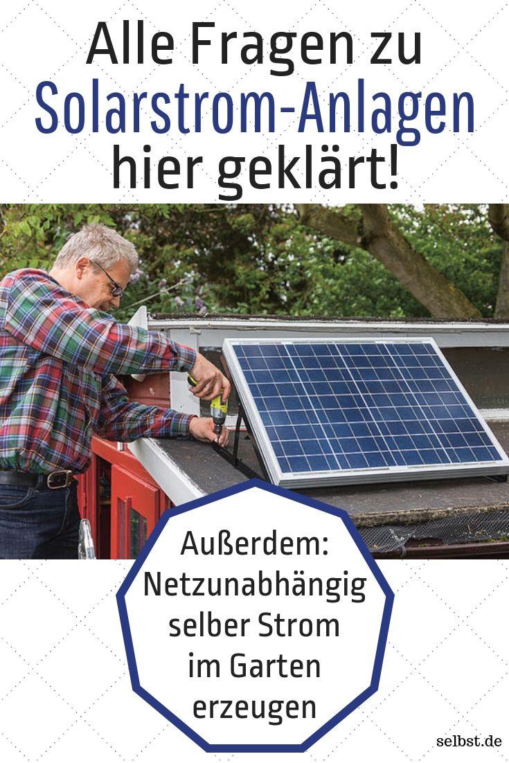 Grundwissen Solarstrom-Anlagen