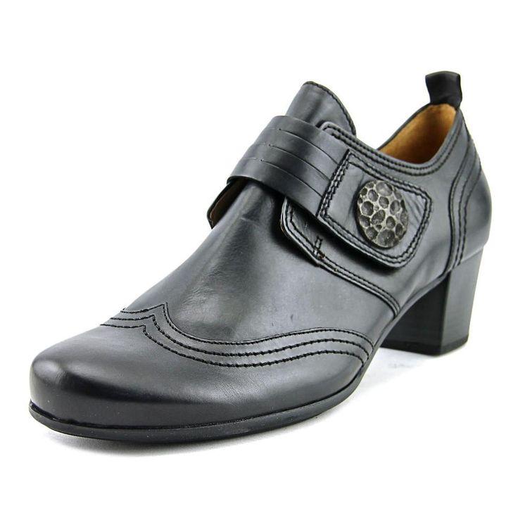 Gabor 35.462 Round Toe Leather Bootie
