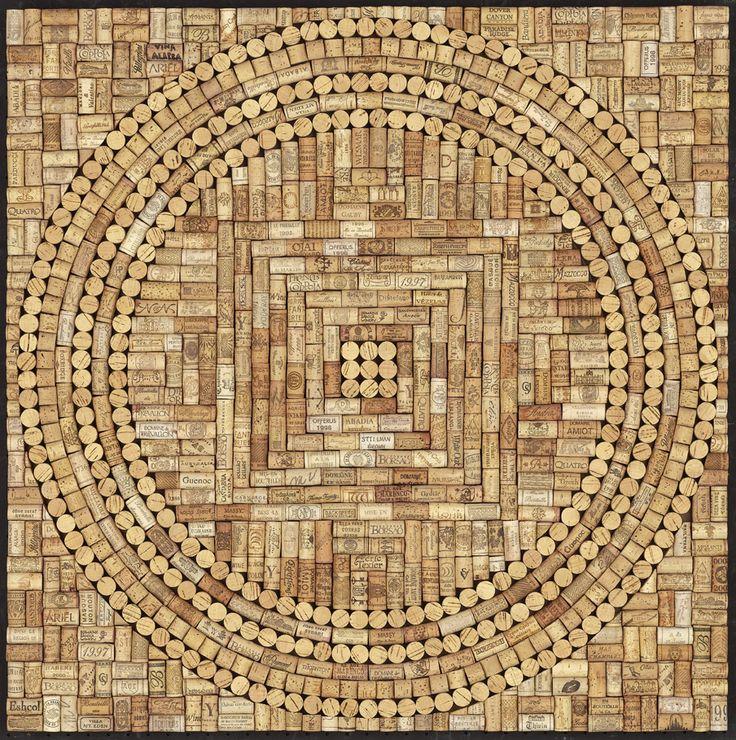 Wine Cork Mandala - Mandala Artists