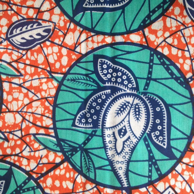 A personal favourite from my Etsy shop https://www.etsy.com/uk/listing/244506212/african-wax-print-orange-and-blue-wax