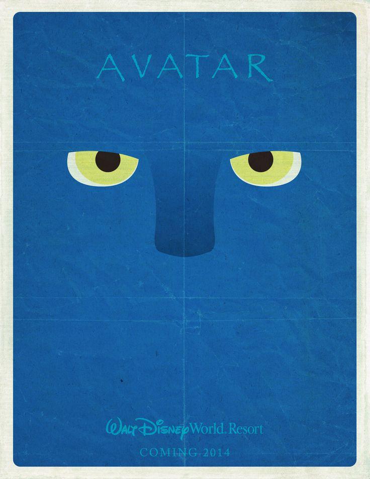 Minimalist Disney Avatar Poster
